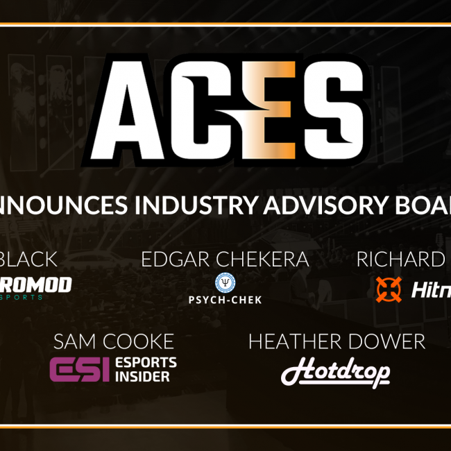 ACES appoints key figures in esports sector onto its IAB